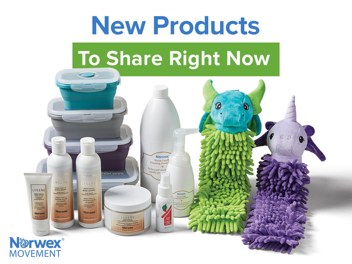 New Products to Share Right Now